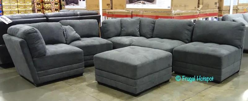 norris fabric modular sectional