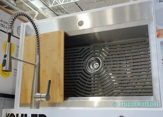 kohler pro inspired sink kit costco