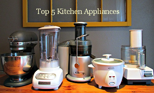 kitchen appliances list rolling cart kate s top 5 favorite frugal living nw