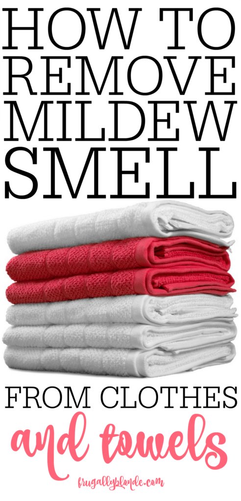 How To Remove Mildew Smell From Clothes and Towels