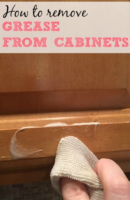best way to remove grease from kitchen cabinets espresso island how frugally blonde