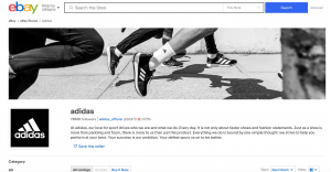 adidas official ebay