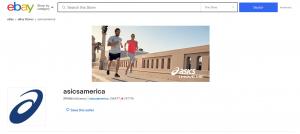ASICS eBay Store