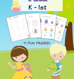 Easter Themed Kindergarten Math Worksheets - Frugal Mom Eh! [ 1102 x 735 Pixel ]