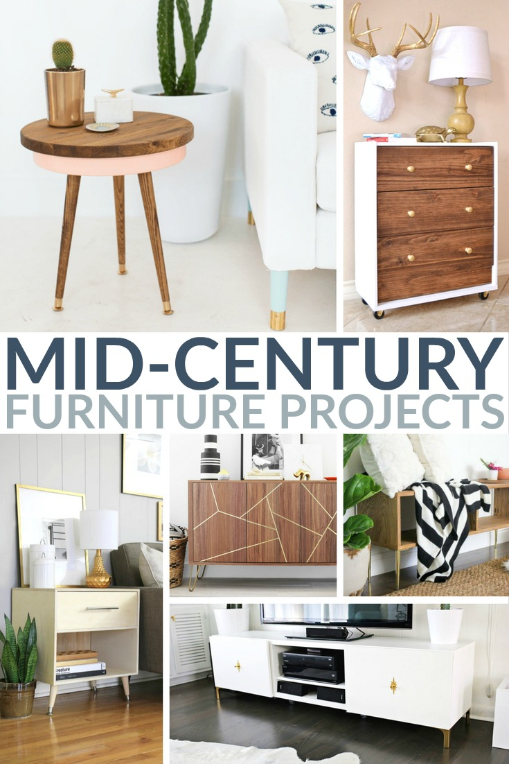 20 Inspirational Mid Century Furniture Projects Frugal Mom Eh