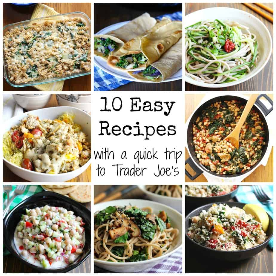 10 easy weeknight recipes - thanks to trader joe's | frugal nutrition