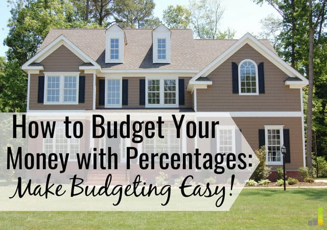 10 recommended budget percentages