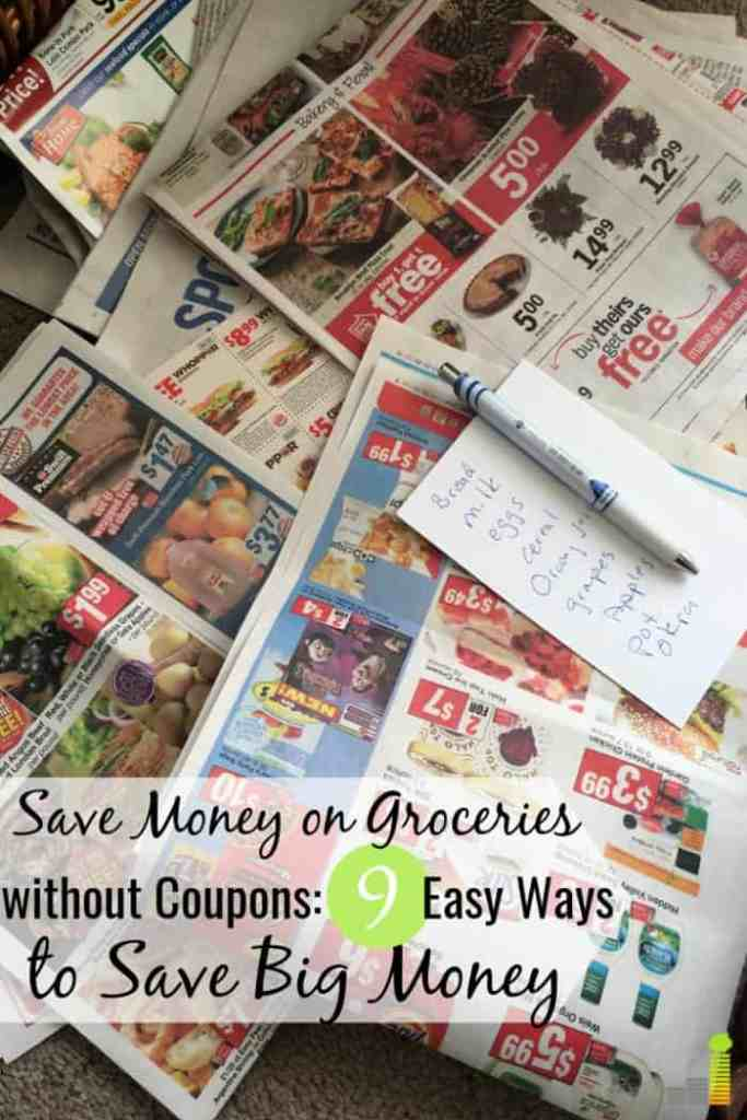 Want to know how to save money on groceries without coupons? It can be done. Here are 9 easy ways to lower your grocery bill and save big money.