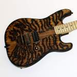Canadian Contests ~ Enter for a chance to win a George Lynch Burnt Tiger electric guitar!