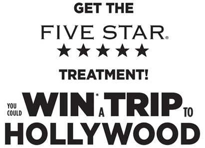 Contest ~ Enter to win a Trip to Hollywood, California
