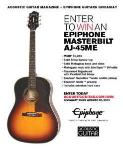 Epiphone-Giveaway