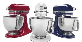 Contest ~ Enter to Win a KitchenAid Artisan 5-Quart Stand Mixer!