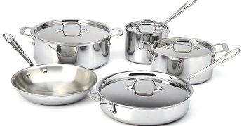 Contest ~ Enter to Win 1 of 3 9- Piece ALL Clad® Cookware Sets!