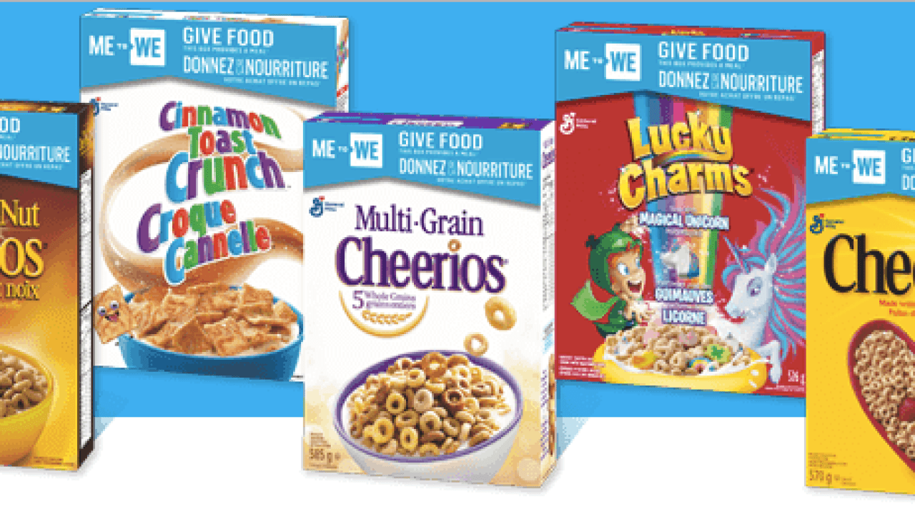 Cheerios ME to WE Win a Family Trip Contest!   Fru-Gals