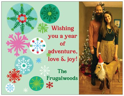 The Patented Frugalwoods Cheap Christmas Card Hack