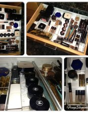 Makeup Drawer Organizing