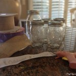 Easy DIY Mason Jar Vases – Table Centerpieces