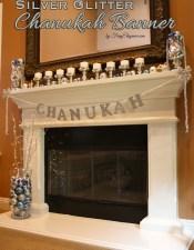 DIY Chanukah Banner