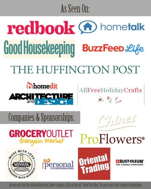 Some of our Sponsors at FrugElegance.com