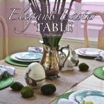 Elegant Easter Table