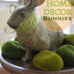 Spring Home Decor Bunnies