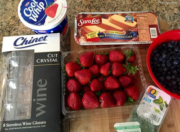 Berry Trifle Cups | FrugElegance | www.frugelegance.com