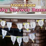 Story Book Baby Shower Banner