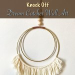 Anthropologie Knock Off Dream Catcher Wall Art