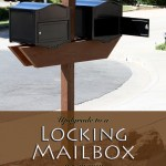 Upgrade to a Locking Mailbox