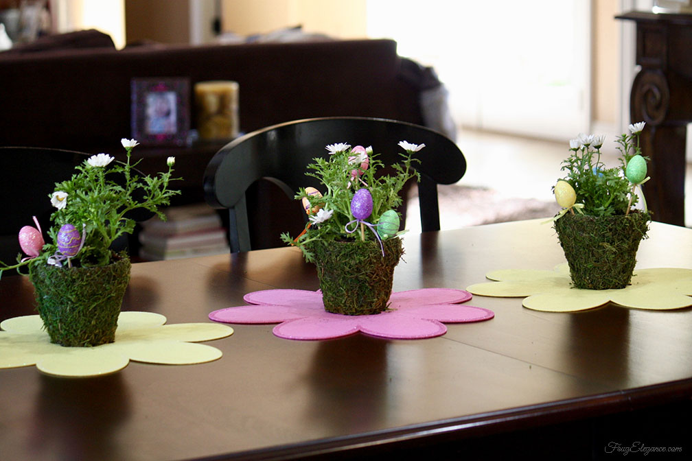 Add A Touch Of Easter Decor For Less By Frugelegance Com