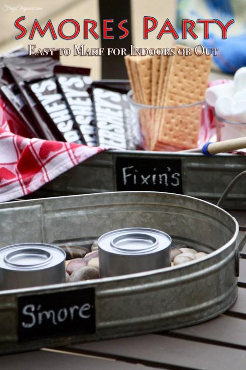 Easy Indoor Smores by FrugElegance.com