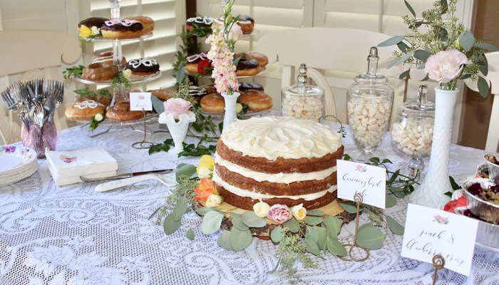Secret Garden Party Dessert Table