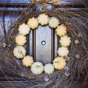 Quick and Easy Fall Wreath  FrugElegant Style! What dohellip