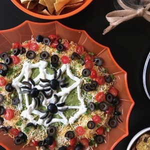 Holy Guacamole this Halloween 7 Layer Dip is a winner!hellip
