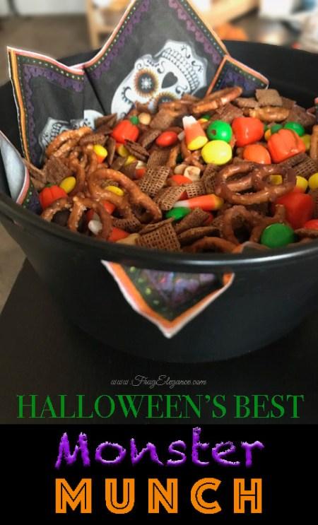 Best Halloween Monster Munch | FrugElegance | www.FrugElegance.com