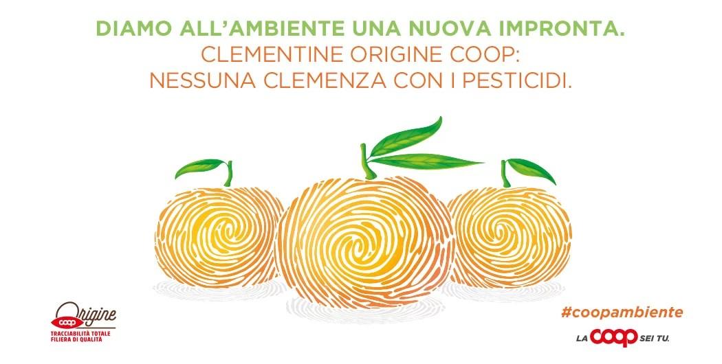 Coop clementine senza glifosato