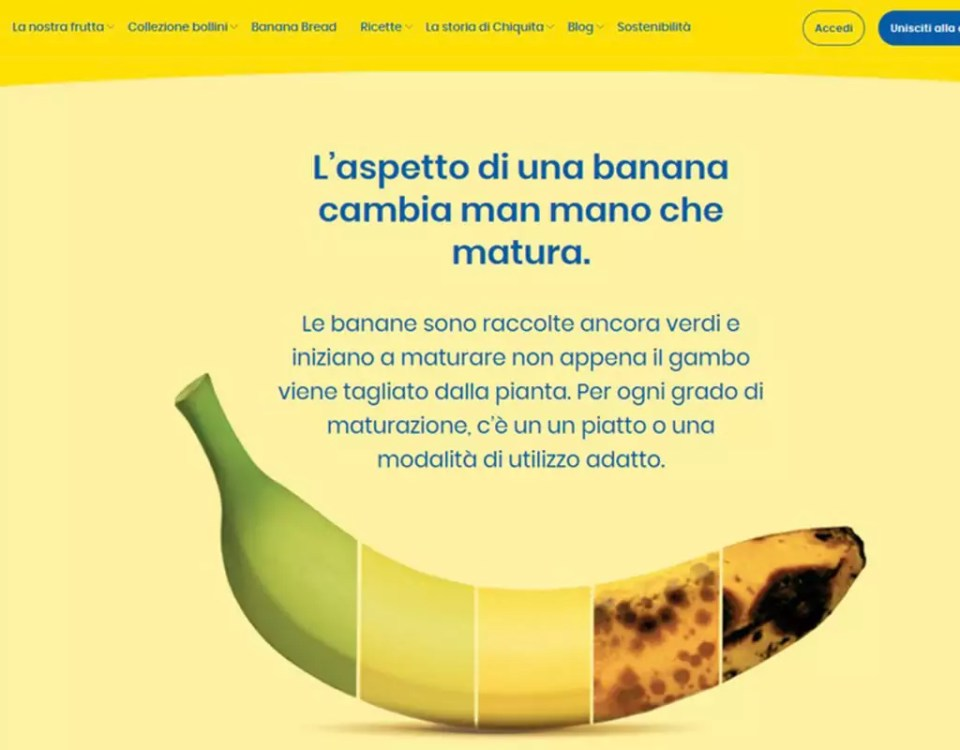 Chiquita-spreco-sostenibilita