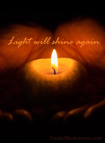 Wait... Light will shine again. Depression and Anxiety at Christmastime