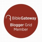 Melinda VanRy is a BibleGateway Blogger Grid Blogger