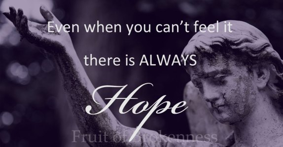 There is ALWAYS hope... Encouragement to establish good mental health habits