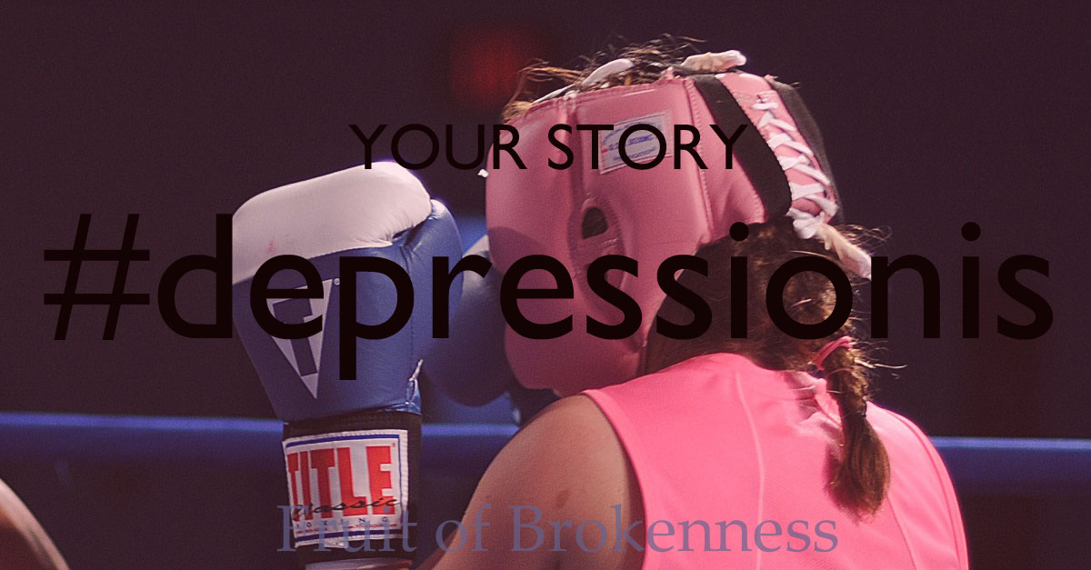 Stacey's #depressionis... a fight