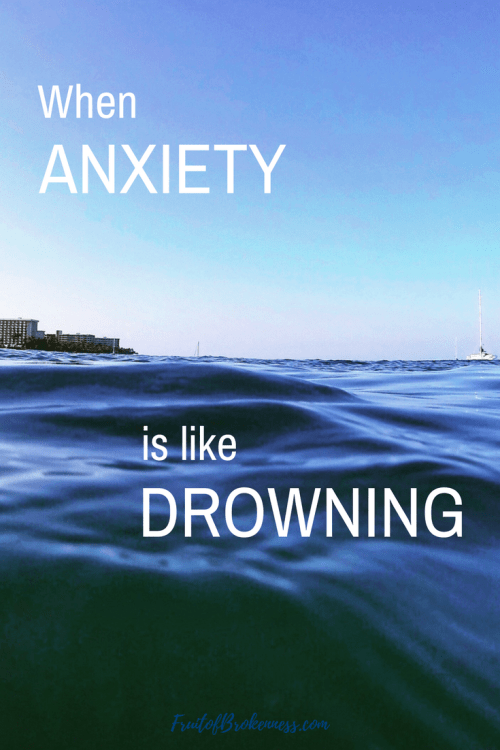 How could I have ANXIETY if I wasn't agitated?