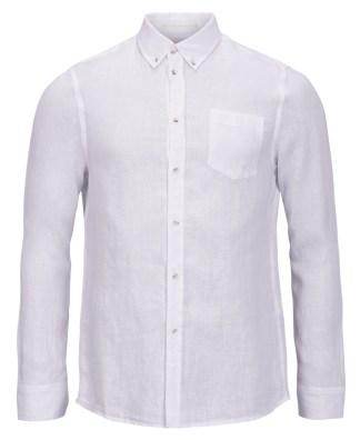 Pelle P Linen Shirt, White