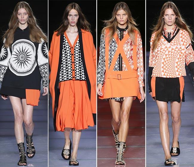 Milan fashion week models