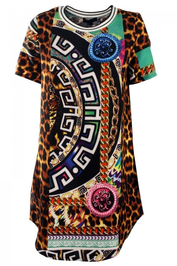 Lasula chain reaction dress