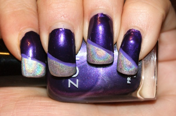 outer space nails