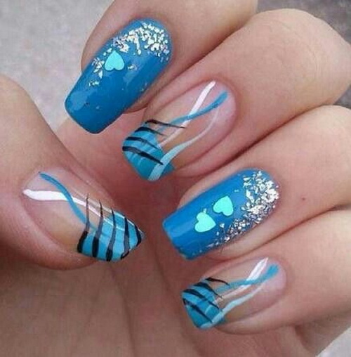 Awesome nail art that puts hump nails to shame fruk magazine beautiful in blue a design that appears carefully crafted this nail art would suit a classic and elegant outfit that is ideal for the day or evening prinsesfo Image collections