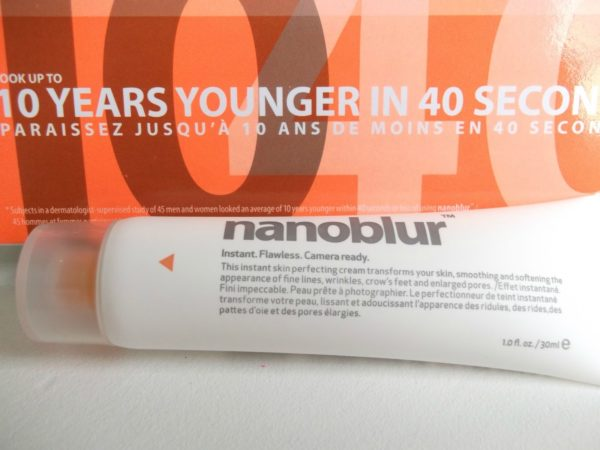 tube of Nanoblur cream