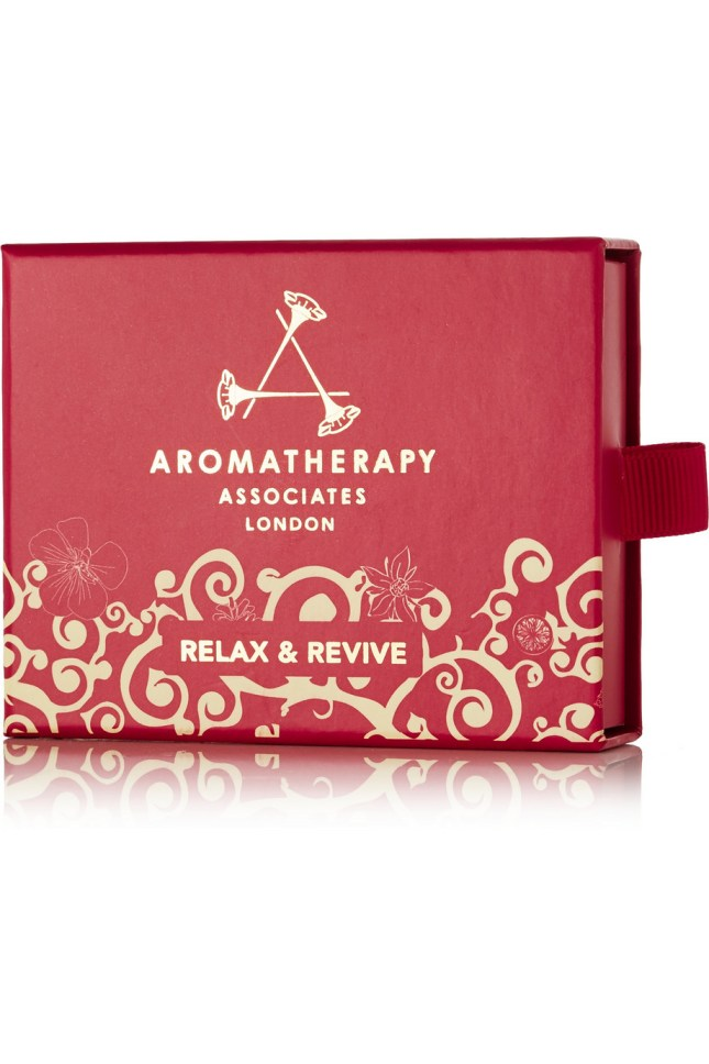 Aromatherapy Associates relax and revive