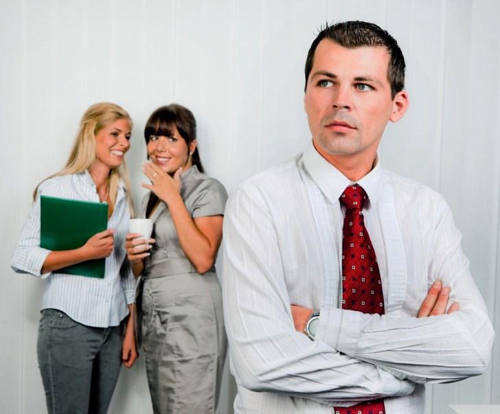 women gossiping at work